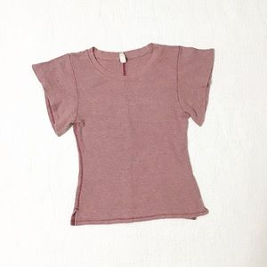 We The Free / Free People Waffle Knit Tee
